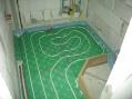 Podlahové kúrenie-kúpelka