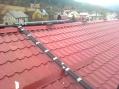 Solárne kolektory-trubicové:umiestnenie na šikmej streche.