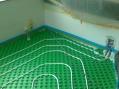 Montáž podlahového kúrania-kuchyňa.