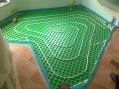 Montáž podlahového kúrenia-Kozárovce-rodinný dom